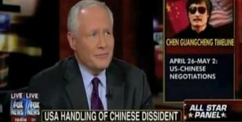 Bloody Bill Kristol Calls Romney's Attacks Over Chinese Dissident 'Foolish'