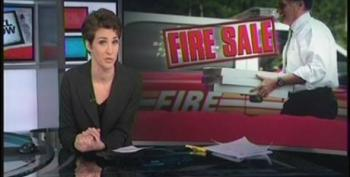 Rachel Maddow Hits Romney For Using 'Overpaid' Firefighters For Photo Op