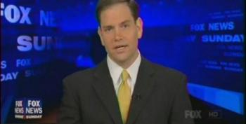 Marco Rubio Claims President Obama Is 'Using The Tax Code As A Weapon For Class Warfare'