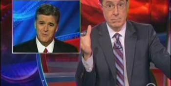Colbert Mocks Hannity For Buying Obama Hater Jon McNaughton's Painting
