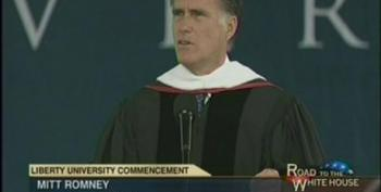 Romney Doubles Down On Opposition To Gay Marriage During Speech At Liberty University