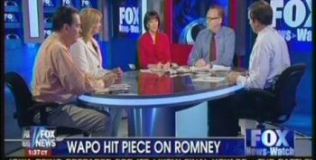 Fox News Watch Host Distorts Washington Post Story On Romney Bullying Incident