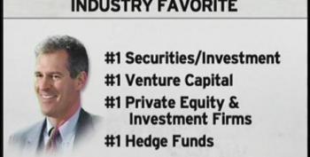 Wall Street's Favorite Senator Scott Brown
