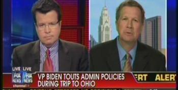 Gov. John Kasich Attempts To Take Credit For Ohio's Improving Economy