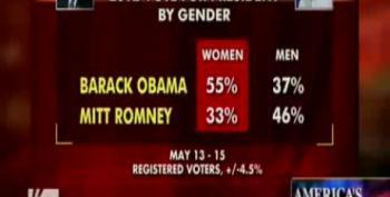 Romney Leading Obama Among Women?