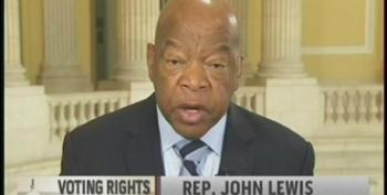 Rep. John Lewis Speaks Out On Voter Suppression And Marriage Equality