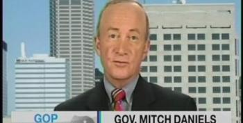Bush's Former Budget Director Mitch Daniels Fearmongers Over Our Debt 'Crisis' During 'Peacetime'