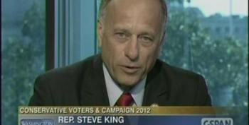 Rep. Steve King Falsely Claims Number Of Uninsured Would Increase Under 'Obamacare'