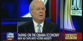 Rove: Blaming Bush For Current Economic Woes Is Not A Good Message For Obama To Run On