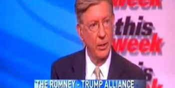 George Will: Romney Campaigning With 'Bloviating Ignoramus' Donald Trump