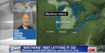 CNN Host Confronts Pete  Hoekstra Over Proposed Birther Commission