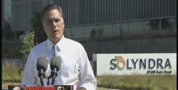 Debunking Romney's Latest Lies On Solyndra