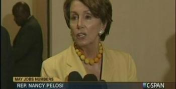 Pelosi And House Leaders Blame Poor Job Numbers On Republican Obstructionism