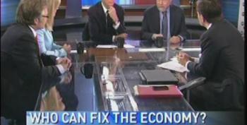 On 'This Week,' Paul Krugman Destroys Romney Surrogate, Calls Ryan Plan A 'Fraud'