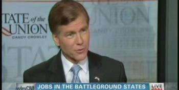 Gov. Bob McDonnell Admits President Obama Deserves Some Credit For Virginia's Unemployment Rate