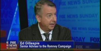 Ed Gillespie Spins Himself In Knots Attempting To Defend Mitt Romney's Opinion On The Auto Industry Bailout
