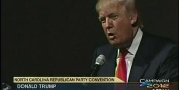 During Birther Rant At NC GOP Convention, Trump Claims He Can't Be Racist After Hiring Arsenio Hall
