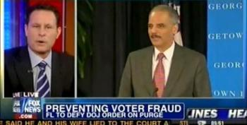Fox News Host Suggests Holder 'Inciting Racism' To 'Boost Minority Turnout'