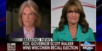 Palin Claims Walker Win Proves Austerity Measures Effective And Calls Union Leaders Thugs