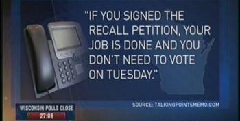 Wisconsin State Senator Taylor Calls For Investigations Into Republican Robocalls Telling Voters Not To Show Up At The Polls