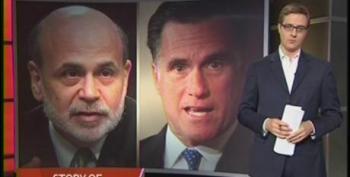 Chris Hayes: Is Ben Bernanke Trying To Help Elect Mitt Romney?