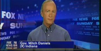 Mitch Daniels Feigns Ignorance When Asked About Indiana's Poor Ranking For Worker Salaries