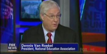 Union President Van Roekel: Top 1 Percent's Wages Have Gone Up 275 Percent