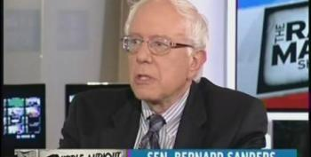 Sen. Sanders Knocks Republicans For Refusing To Pay For Infrastructure If It Makes President Obama Look Good