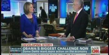 Gloria Borger Compares Blaming Our Current Economic Problems On Bush To Whining