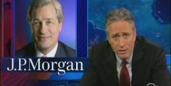 Jon Stewart Knocks Senate Banking Committee For Fawning All Over Jamie Dimon