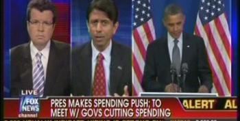 LA Gov. Bobby Jindal Attacks President Obama For 'Going The European Way' With Push For More Government Spending