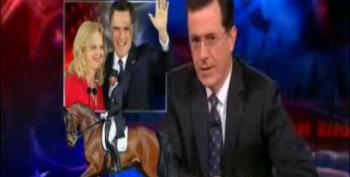 The Romneys Go For Olympic Gold!...in 'Horse Ballet'