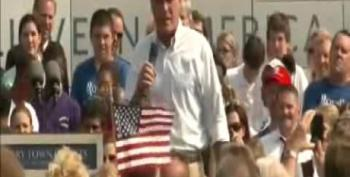 Romney Praises 'Chicken And, You Know, Noodles' In Michigan