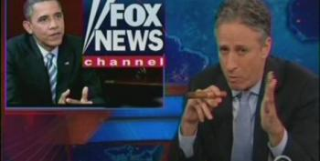Stewart Goes After Fox For Editing President Obama's Comments On Immigration Policy