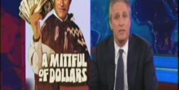 Jon Stewart Takes A Frightening Look At Mitt Romney And His Ultra-Wealthy Campaign Donors