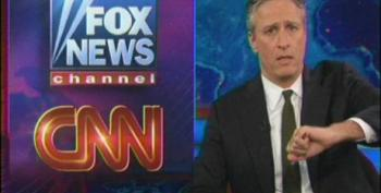 Jon Stewart Mocks CNN And Fox For Blowing Their Coverage Of The Health Care Ruling
