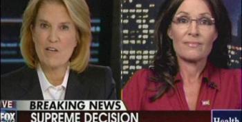 Greta Van Susteren Allows Sarah Palin Lots Of Fact-Free Air Time To Lie About 'Obamacare'