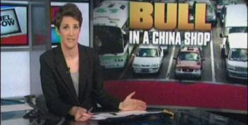 Rachel Maddow Takes Mitt Romney To Task For His Mixed Message On China