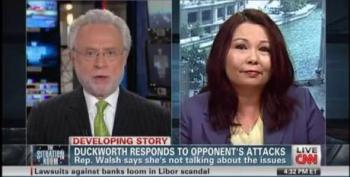 Wolf Blitzer Chastises Tammy Duckworth For Her Treatment Of Joe Walsh