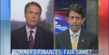 Bobby Jindal 'Filibusters' Question About Mitt Romney's Offshore Millions