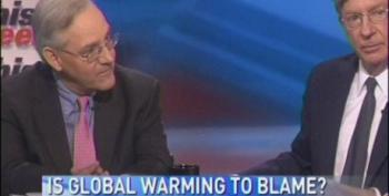 On This Week, George Will Scoffs At Global Warming: 'It's Summer, Get Over It'
