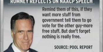 Romney On NAACP Booing: If They Want More Free Stuff, Tell Them To Go Vote For The Other Guy