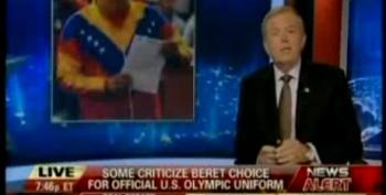 Lou Dobbs On U.S. Olympic Headgear: Hugo Chavez Wears Berets Too!