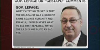 Gov LaPage Finally Walks Back 'Obamacare = Gestapo' Remark