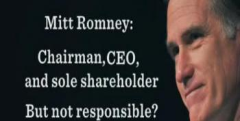 Mitt Romney: Chairman, CEO, And Sole Shareholder