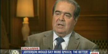 Scalia: You Can't Separate Free Speech From Money That Facilitates It