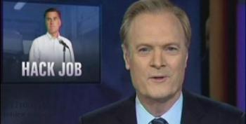 Lawrence O'Donnell Hits Team Romney For Latest Hack Job