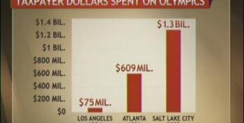 Mitt Romney's Olympics Bailed Out By Tax Payers