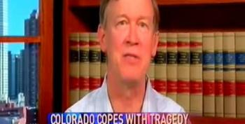 Hickenlooper Wimps Out On Gun Control