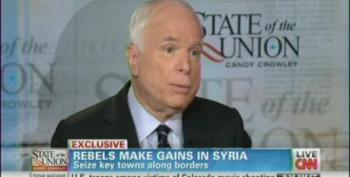 John McCain Continues Beating The War Drums On Syria